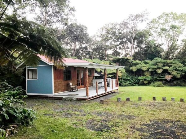 Rainforest Tiny House in Volcano Hawaii