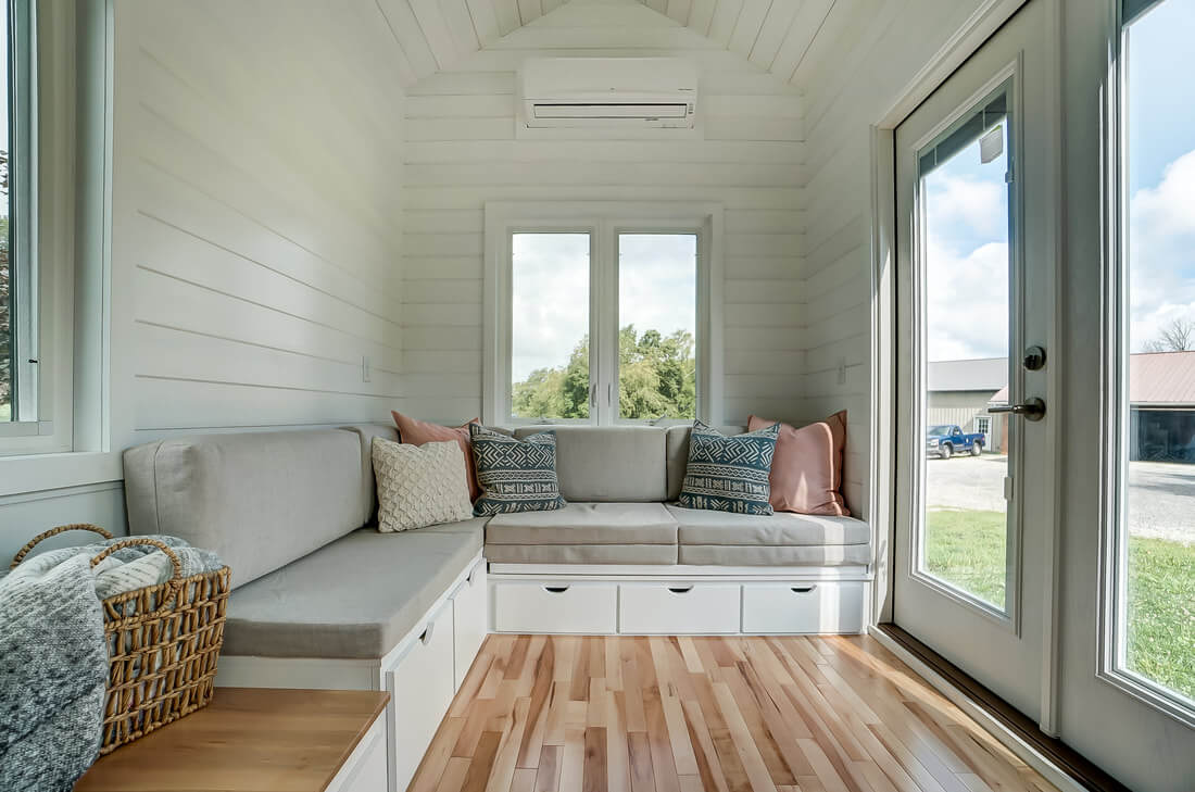 24ft Rainier Tiny House On Wheels by Modern Tiny Living