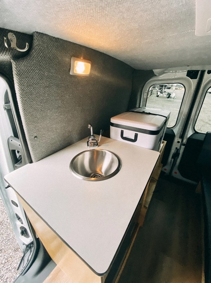 Ram ProMaster City Van Conversion Weekender Camper by Voyager Conversions 0010
