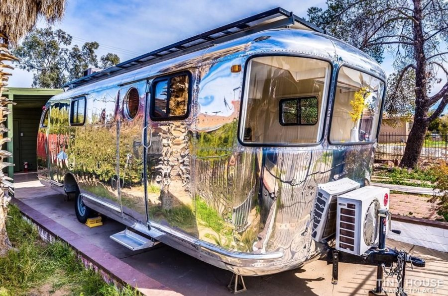 Restored 1947 Spartan Manor Travel Trailer with Full Solar FOR SALE via Lisa Mason-Tiny Home Builders 001