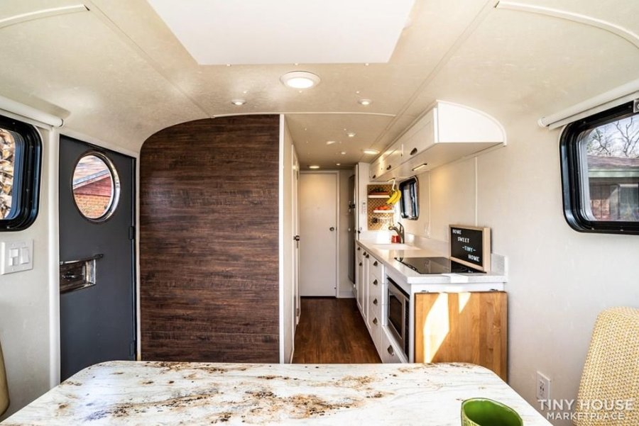 Restored 1947 Spartan Manor Travel Trailer with Full Solar FOR SALE via Lisa Mason-Tiny Home Builders 007