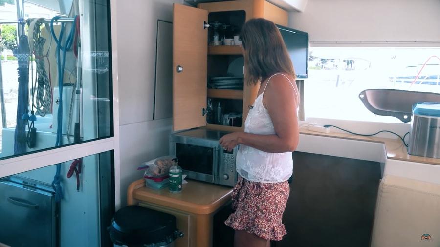 Retired Couple's Tiny Life on a Catamaran From Croatia Around the World 1