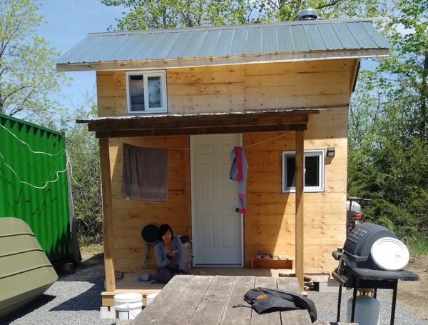 Robs 10k DIY Tiny Home Built in Just One Week