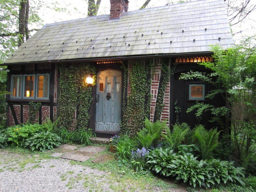 Romantic Herringbone Cottage – Walk to New Hope 007