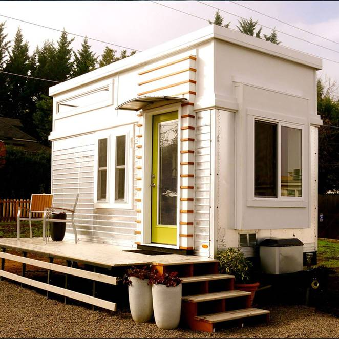 Ron S Epic 200 Sq Ft Trailer Turned Tiny House