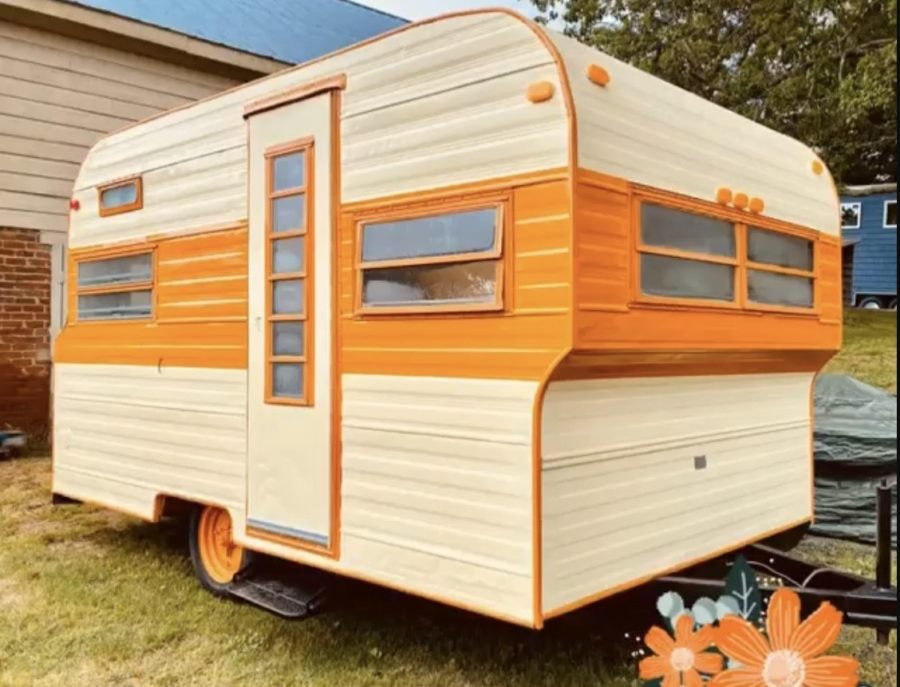 Roost12 Vintage Travel Trailer Remodel by Perch And Nest For Sale 002