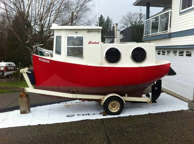 Rosebud Tiny House Boat