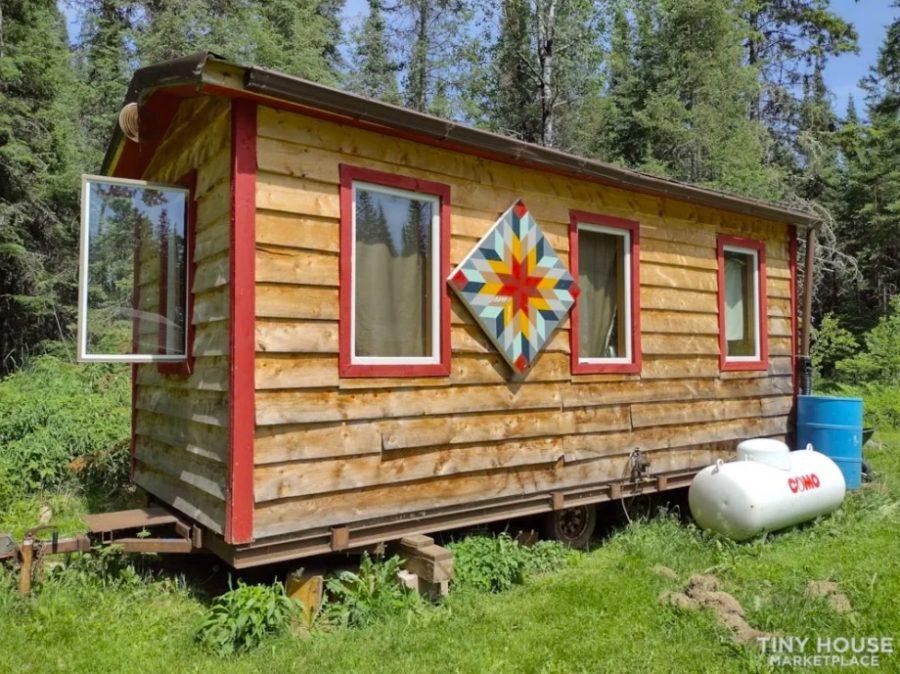 Rustic Tiny House for 9500 out of Saginaw Minnesota via Jesse C Tiny House Marketplace 001