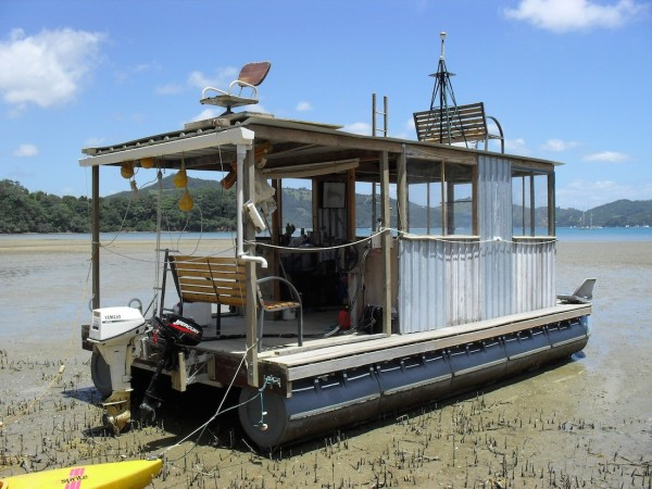 Duck Hunting Boats For Sale >> DIY Pontoon Tiny Houses