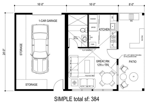 SIMPLE cottage by Sidekick Homes 003