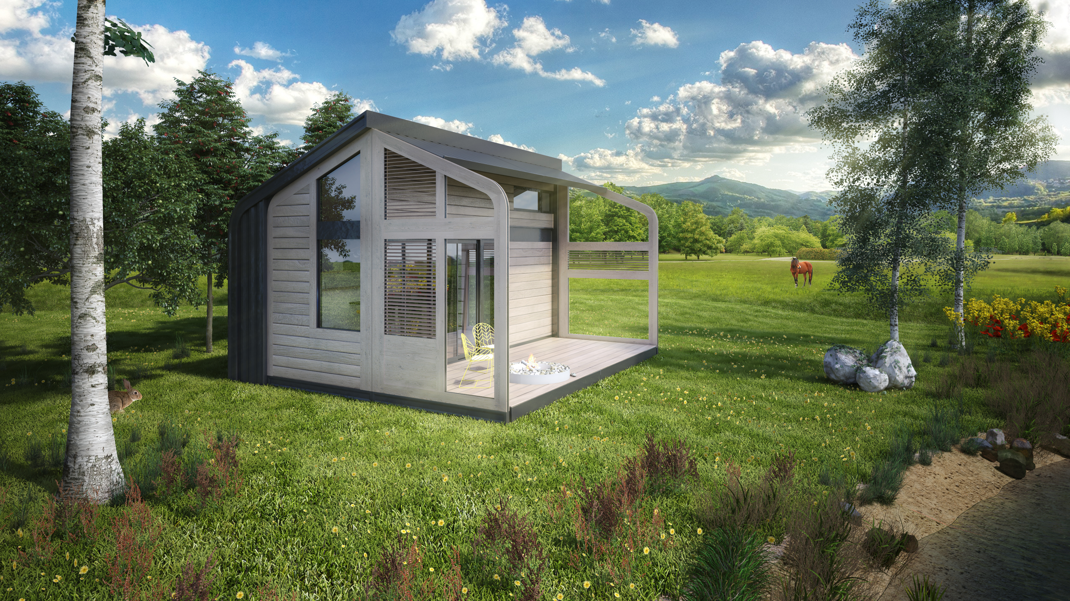 Salt And Water S Portable Tiny House Not On Wheels