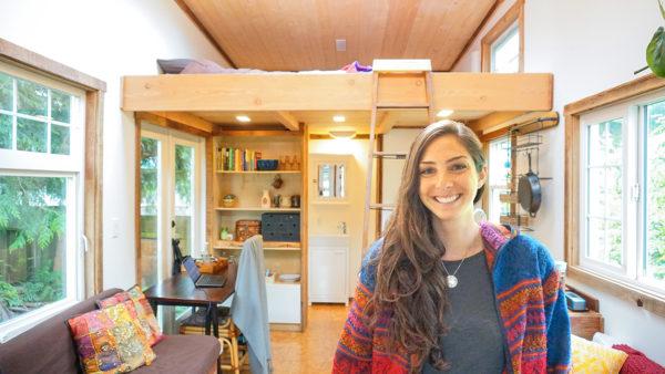 Sam's tiny house tour - Exploring Alternatives 01