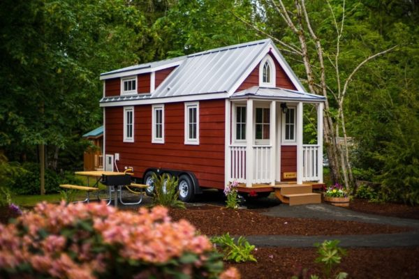 Scarlett Tiny House at Mt Hood Tiny House Village 001