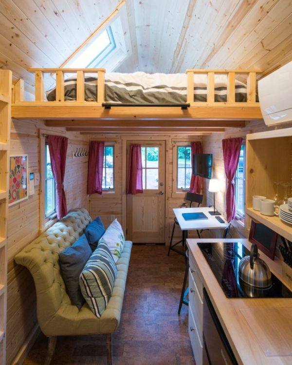 Scarlett Tiny House at Mt Hood Tiny House Village 0014