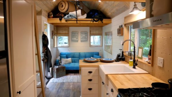 She Moved into a Tiny House to Travel After Retiring Early as a Cop!