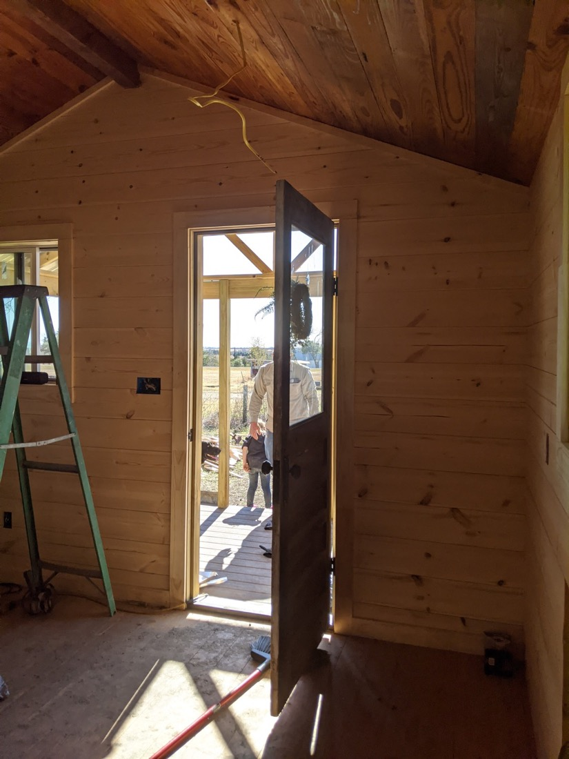 Shed To Farmhouse Build 0024
