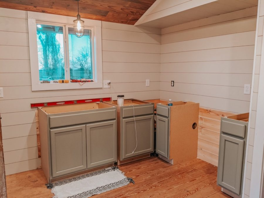 Shed To Farmhouse Build 0033