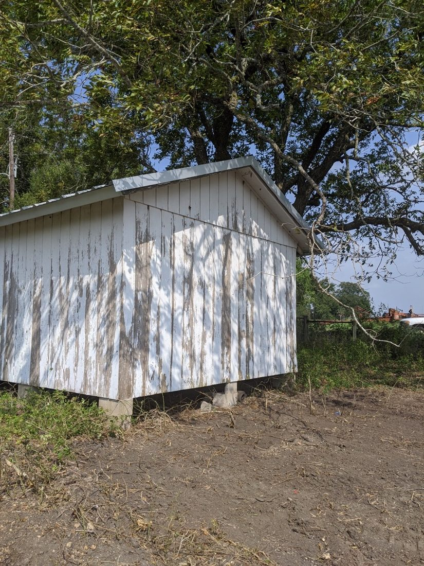 Shed To Farmhouse Build 007