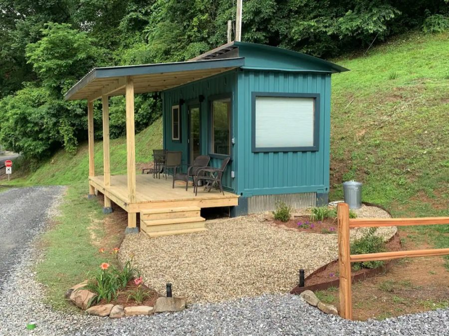 Ship Shak On The River In Bryson City NC via Kyle-Airbnb 0010
