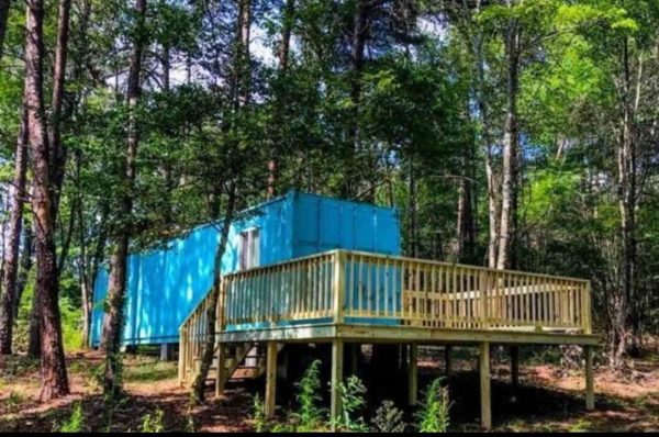 Shipping Container Tiny House on 1 Acre in Fort Payne Alabama For Sale