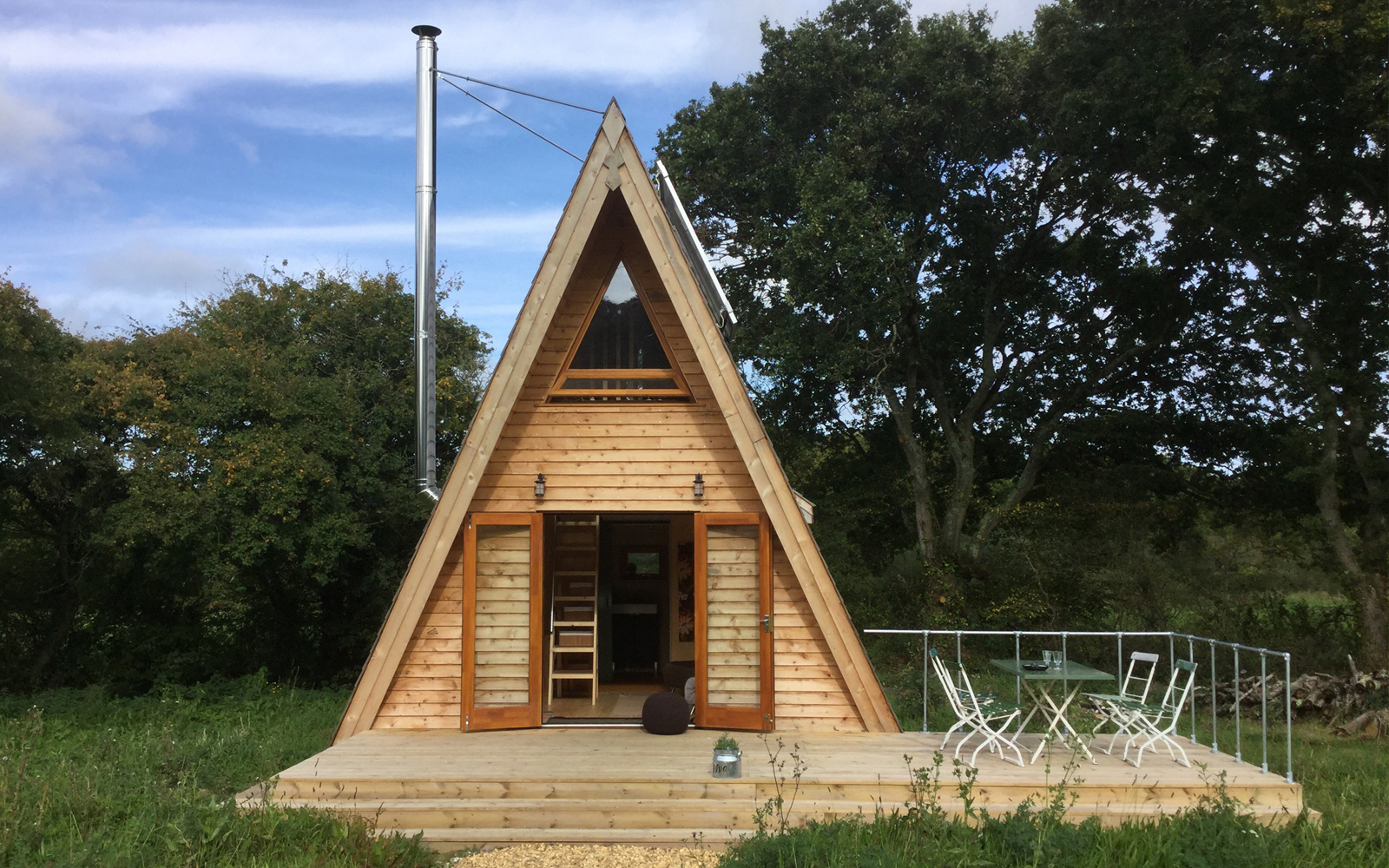 The Silva Tiny House A Tiny A Frame Cabin In The Isle Of