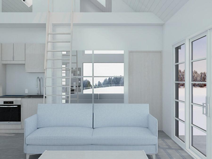 Sno Scandinavian Cabin Plans Modern 5