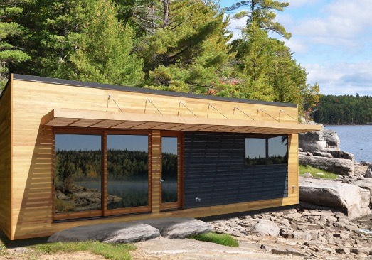 475 Sq Ft Solo 36 Bunkie Modern Tiny Cabin