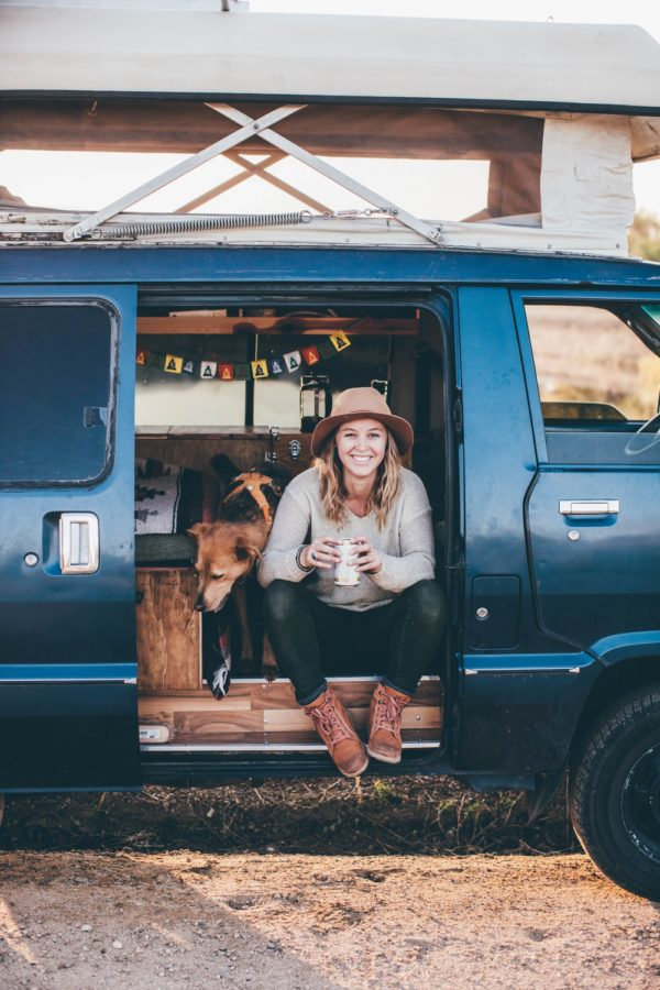 Solo Female Living out of an 87 Toyota Van 003