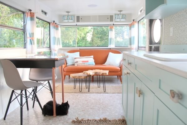 Sparty Vintage Trailer Tiny House by Backyard Bunkies 002