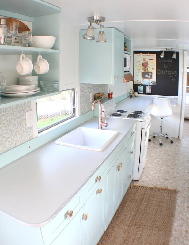 Sparty Vintage Trailer Tiny House by Backyard Bunkies 006