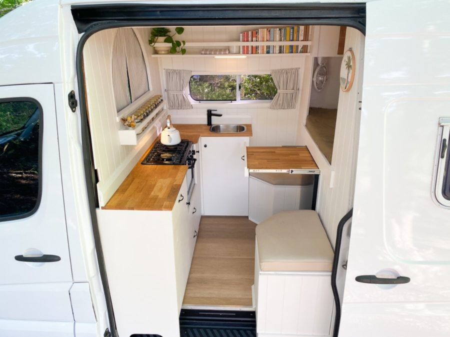 Sprinter Van Build By Land Carpentry And Constructions in Australia 002