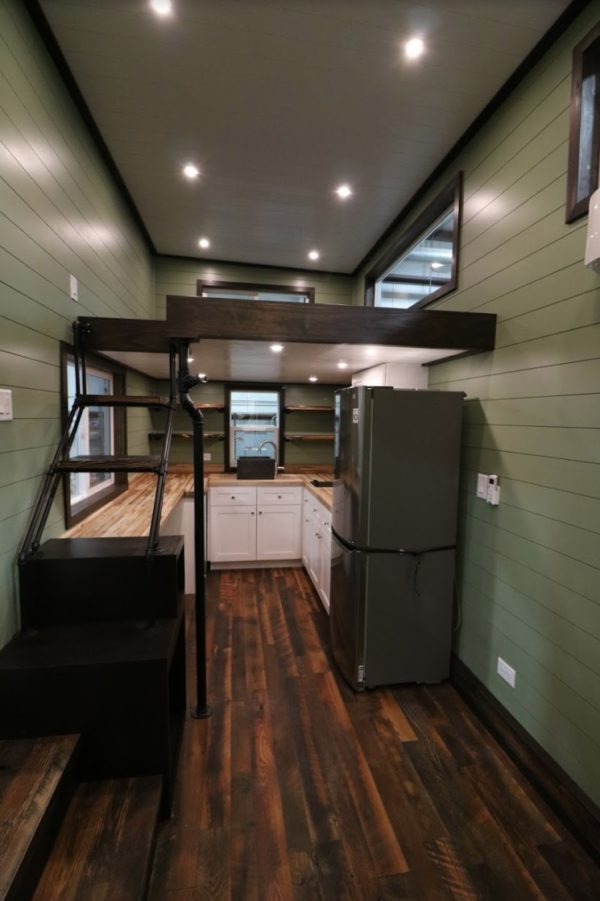 Steampunk Tiny House by Titan Tiny Homes 002