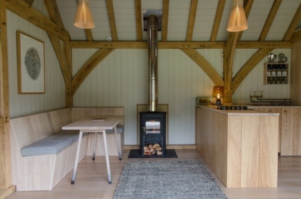 Sustainable, Off-Grid Modern Tiny Cabin in Devon, England 04