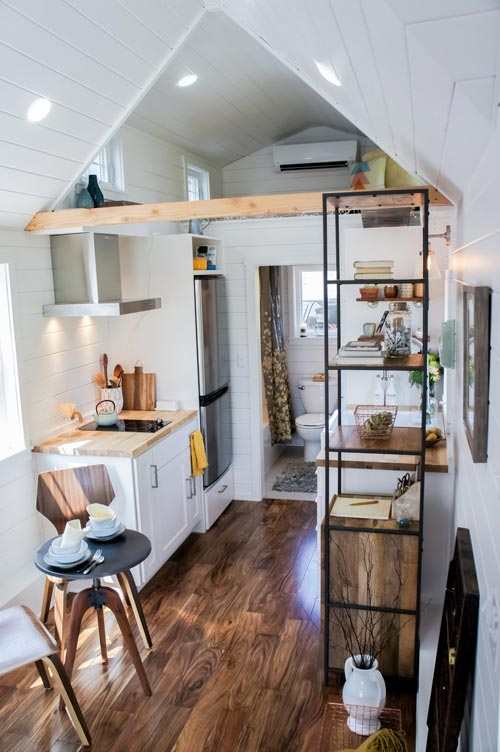 The 28ft Country Payette Tiny House by TruForm Tiny 003