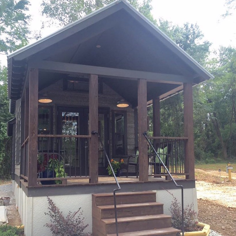 The Alexander 399-sq-ft Tiny House by Lakeside Park Models at Lakewalk Tiny House Community in Greer SC 005