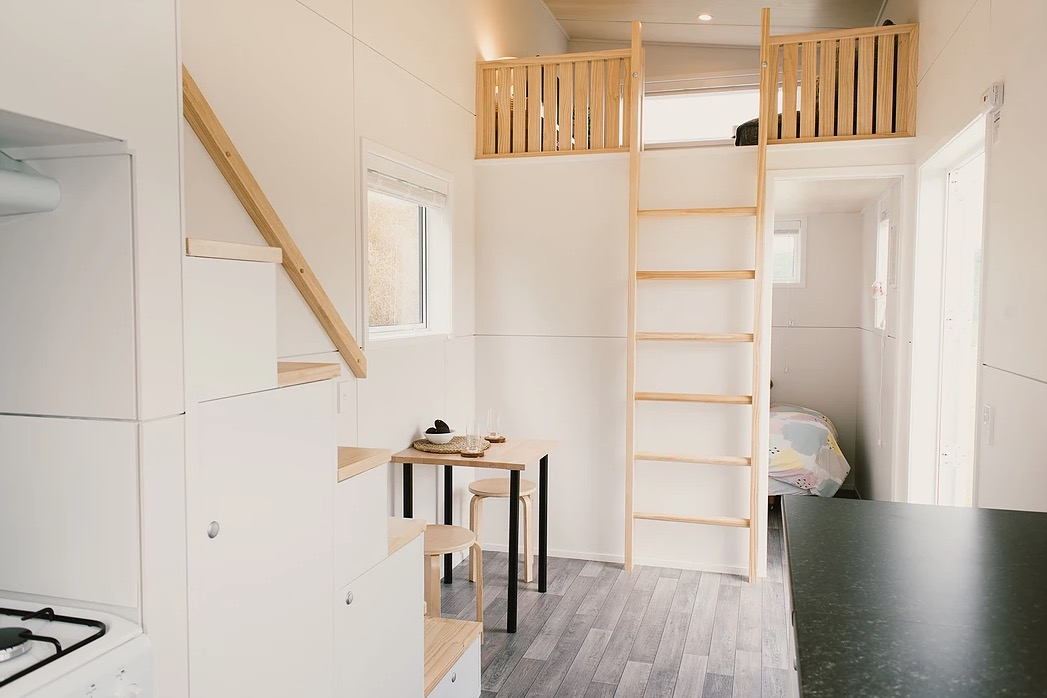 A Room Fit For An Archer: Archer Tiny House On Wheels With A Kids Room