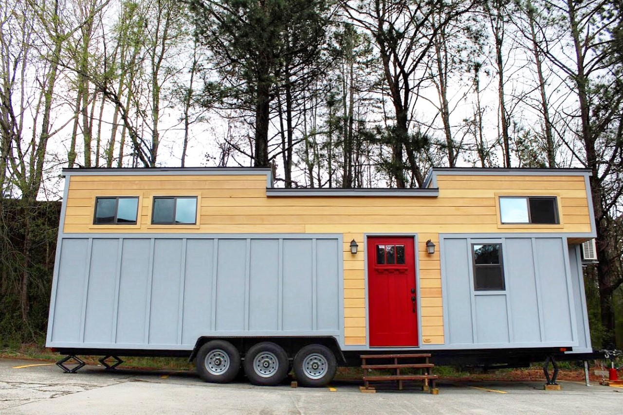 The juniper tiny house by mustard seed tiny homes for Juniper house