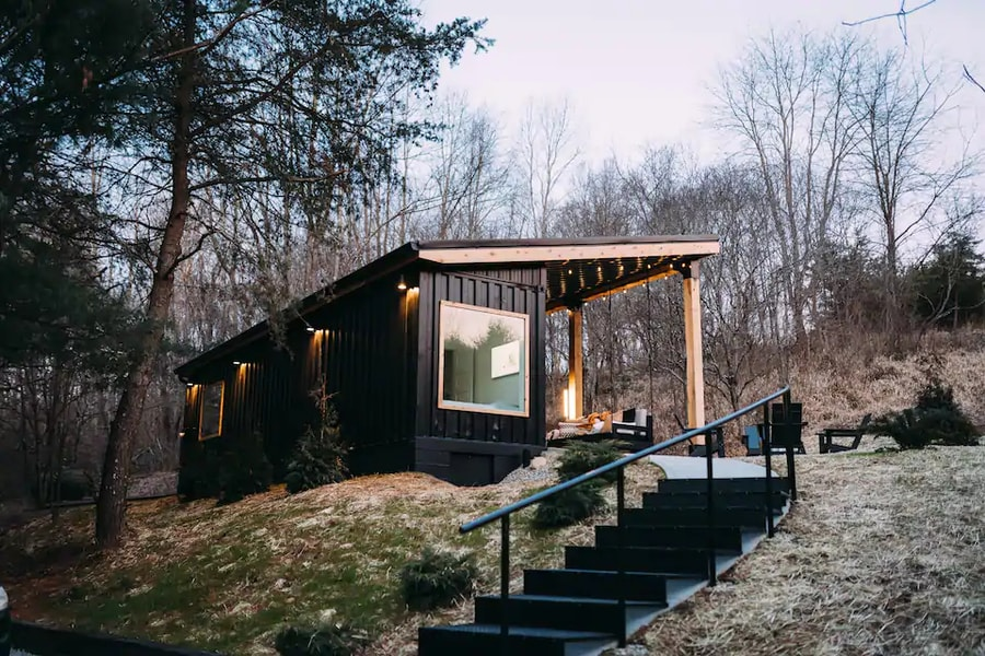 The Lily Pad – Hocking Hills- Shipping Container 12
