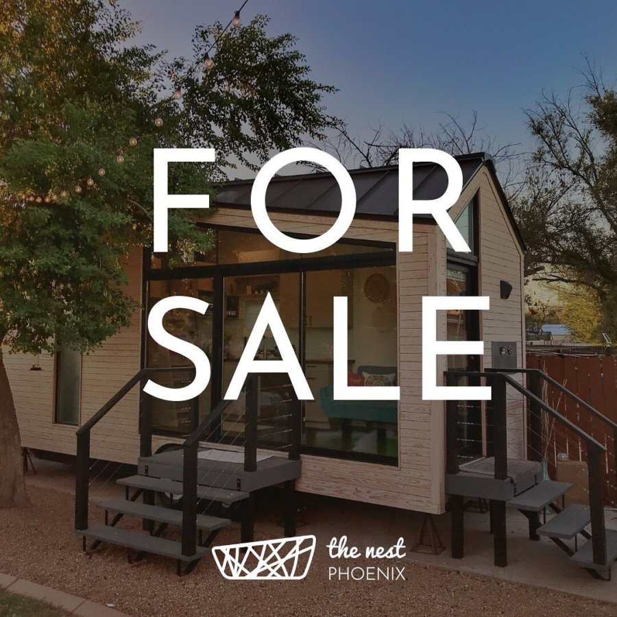 The Nest Tiny House Phoenix Is For Sale via thenestphx-IG 002