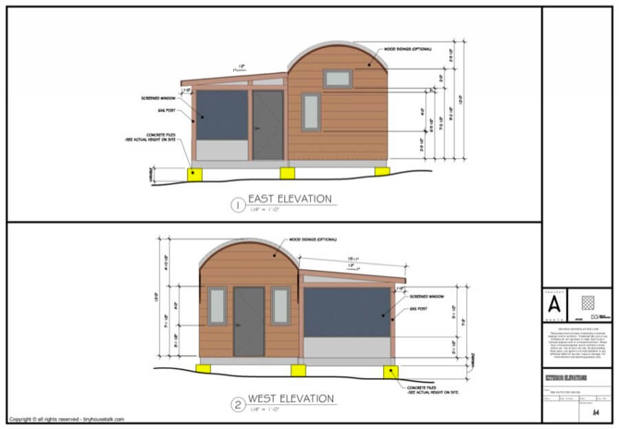The Patti Tiny House Plans via TinyHouseTalk-com 003