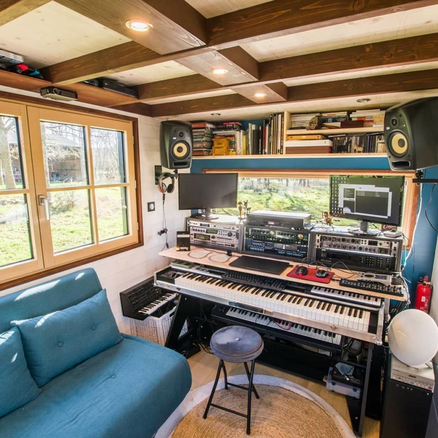 The Rhapsodie Tiny House with Recording Studio by Tiny House Baluchon 001