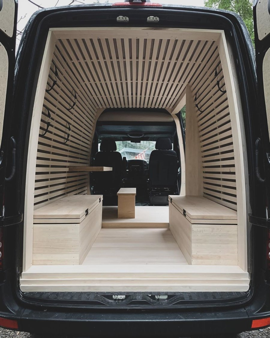 The Ryovan Project Japanese Teahouse Inspired Van Conversion 004