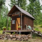 The Shanty Off Grid Tiny Cabin in Montana 001