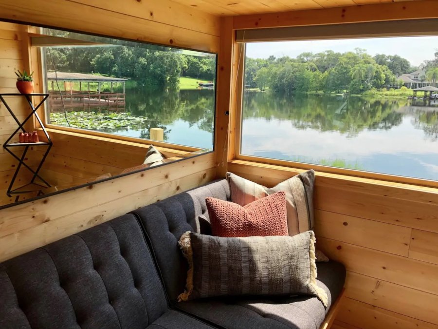 The View Modern Tiny House in Orlando Lakefront via Adam-Airbnb 005