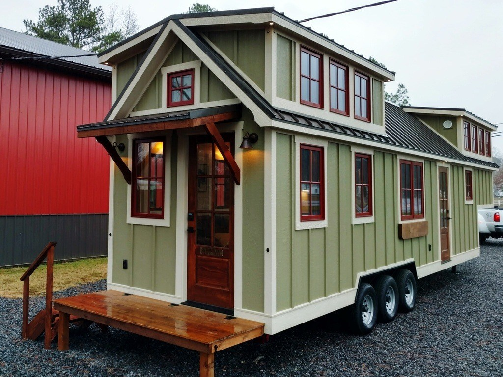 Timbercraft 37 39 Tiny House On Wheels For Sale Al