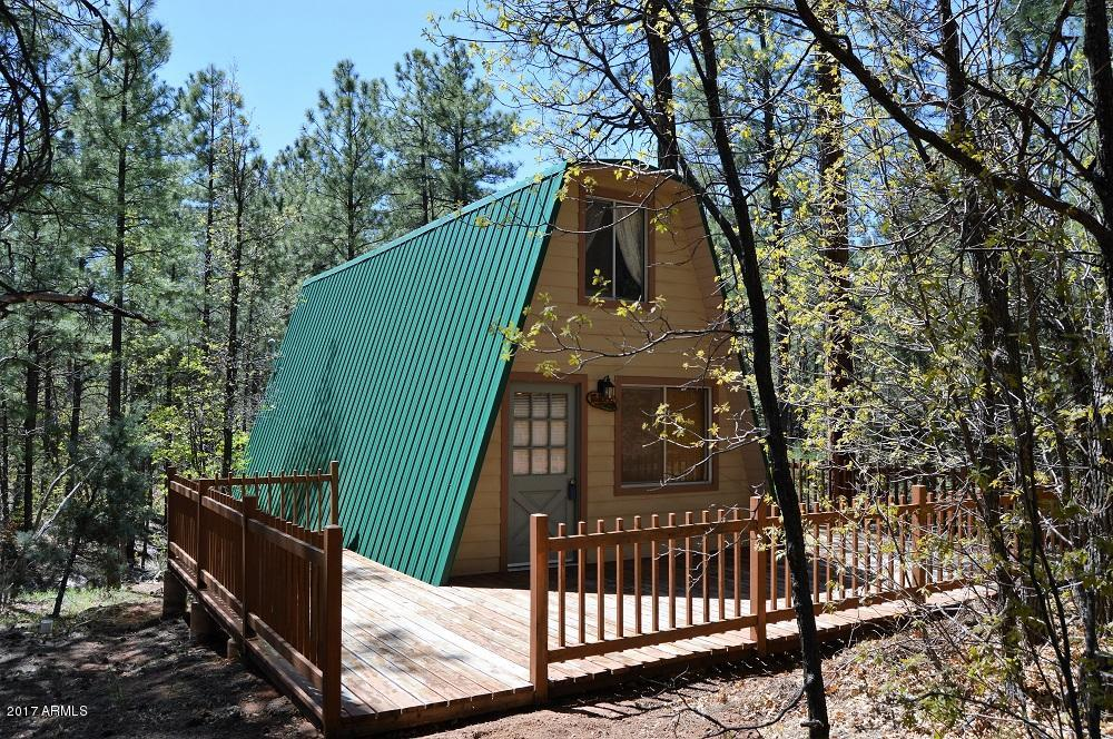 Tiny a frame cabin on 44 acres for sale in arizona for A frame cabin builders