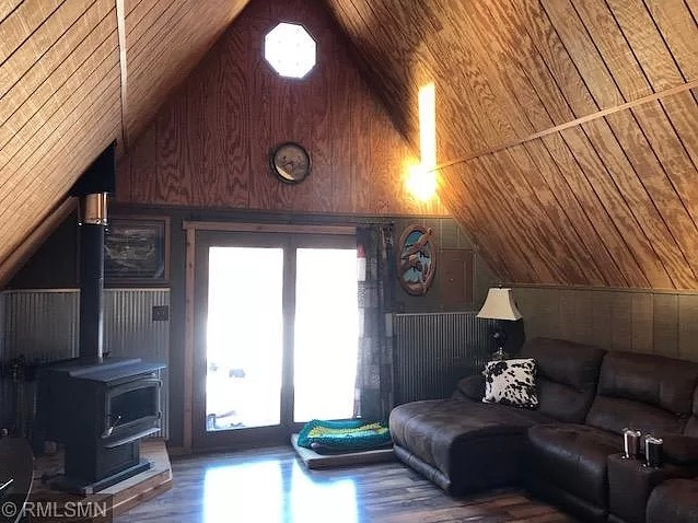 Tiny A-frame Cabin w Carport and Shed on 2-5 Acres for 70k via Zillow 002