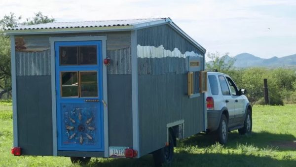Tiny Beach House on Wheels For Sale 001