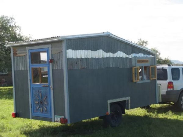Tiny Beach House on Wheels For Sale 0024