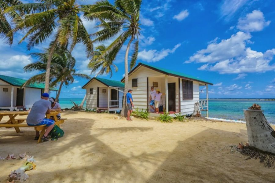 Tiny Cabana Cottage Right On The Ocean in Belize via Ricardo-Airbnb 001a